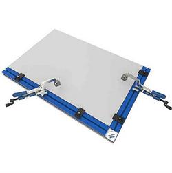 Столешница для верстака монтажного (с 2-мя направляющими, 2-мя струбцинами и 5-ю упорами)