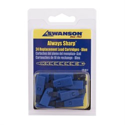 Грифели для карандаша Swanson Always Sharp, синие