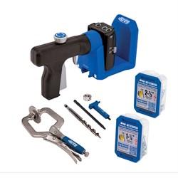 Кондуктор для сверления Kreg Pocket-Hole Jig 520 в комплекте с клещами
