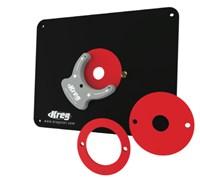 Пластина без отверстий для крепления фрезера с тремя кольцами для Triton, CMT