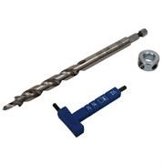 Шестигранный ключ с разметкой , сверло и стопорное кольцо